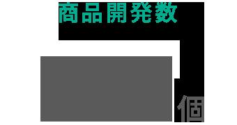 商品開発数527個